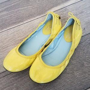 Cole Haan Maria Sharapova Ballet Flats Yellow